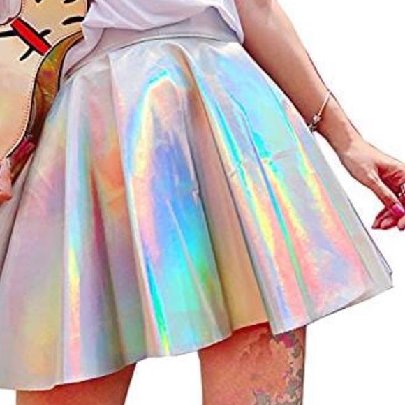 Pink Mermaid Kids Skater Skirt